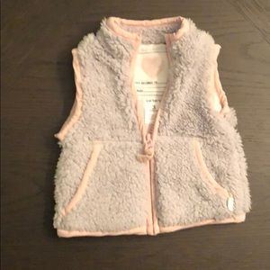 3M Sleeveless vest gray and pink